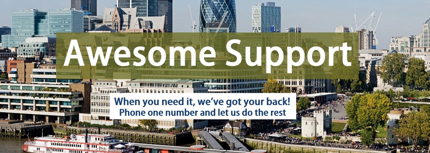 Total Property's excellent support services